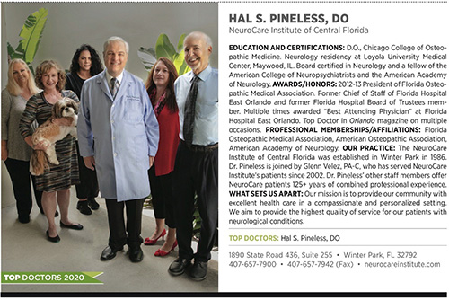 Top Doctor Dr. Hal Pineless